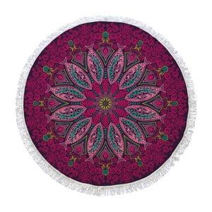 Prosop de baie rotund Passionflower, ⌀ 150 cm