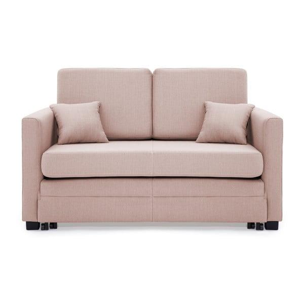Canapea extensibilă, 2 locuri, Vivonita Brent, roz deschis