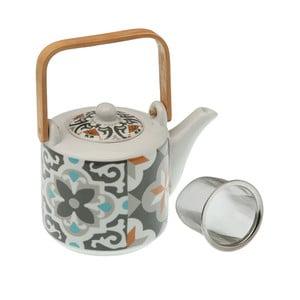 Ceainic din porțelan cu sită VERSA Floralism