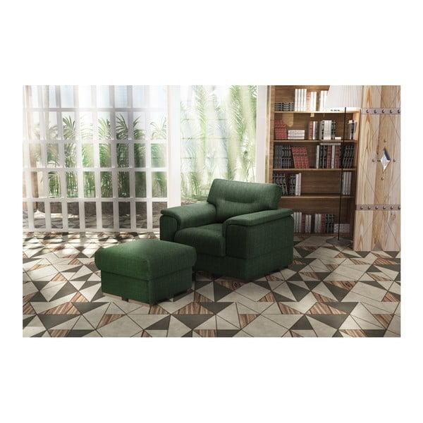 Zelené křeslo Stella Cadente Maison Madeiro