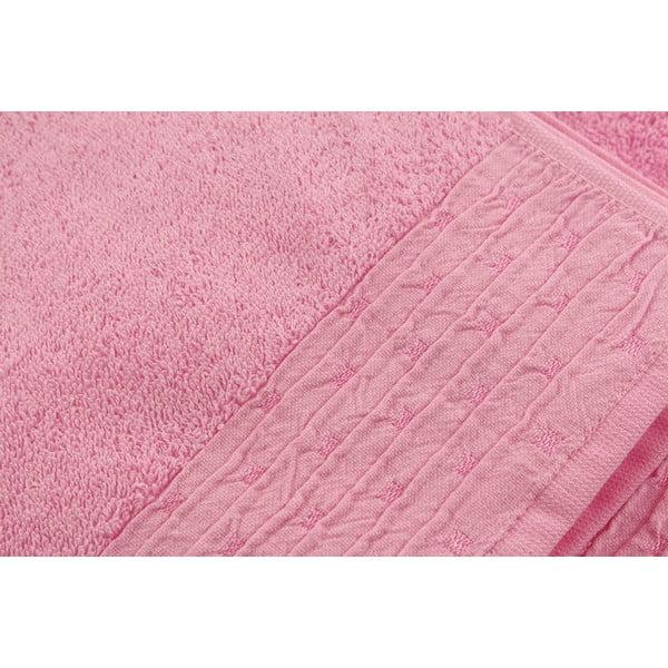 Sada 2 ručníků Yeni Pink, 50x90 cm