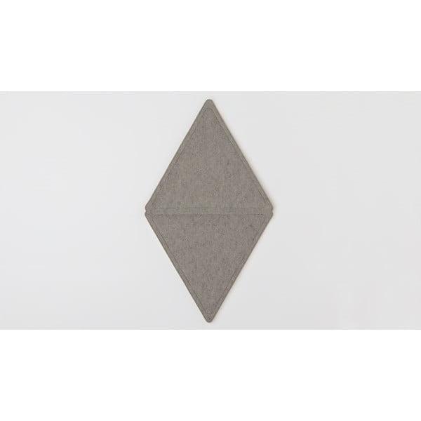 Modulový koberec Edera, tmavě šedý