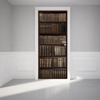 Autocolant Adeziv Pentru Usa Ambiance Bookshelf