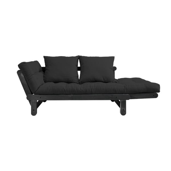Canapea extensibilă Karup Design Beat Black/Dark Grey
