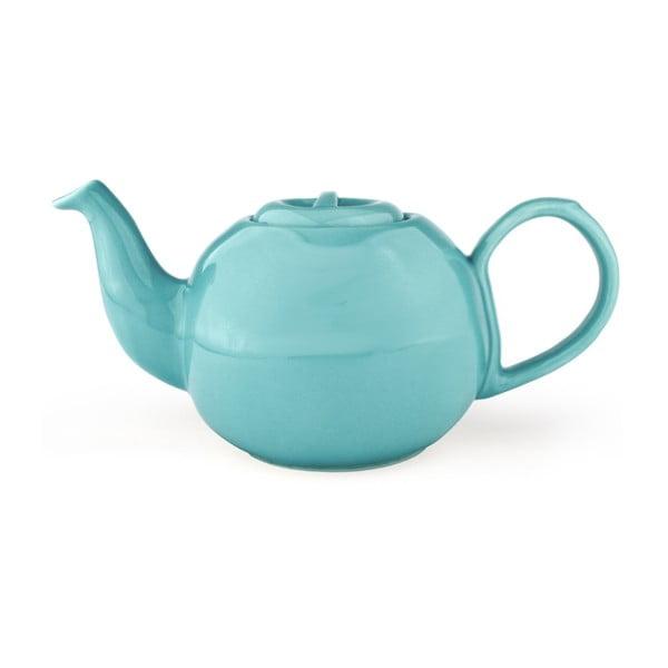 Světle modrá konvice se sítkem na sypaný čaj Bredemeijer Cosette, 1,3 l