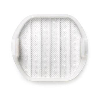 Tavă multifuncțională pentru gătire la aburi pentru 1 - 2 porții Lékué, alb