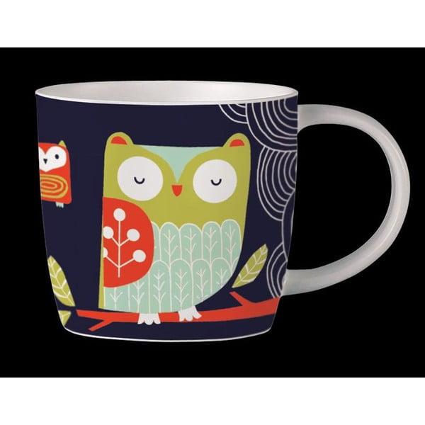 Hrnek z kostního porcelánu Folkland Barn Owl