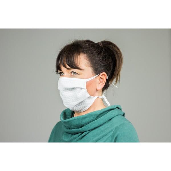 Zestaw 4 materiałowych maseczek ochronnych na usta SILVER