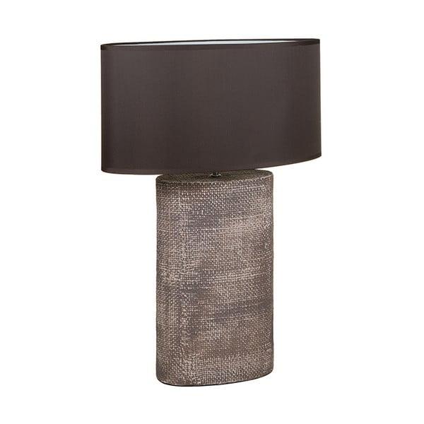 Hnědá keramická stolní lampa Santiago Pons Coastal, výška71cm