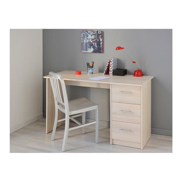 Pracovní stůl v dekoru akáciového dřeva Parisot Orléans