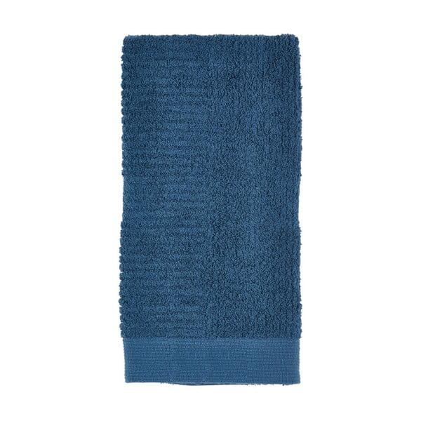 Tmavě modrý ručník Zone Nova,100x50cm