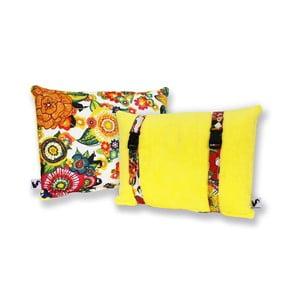 Voděodolný a oboustranný polštářek Dream Pillow Banana Jungle