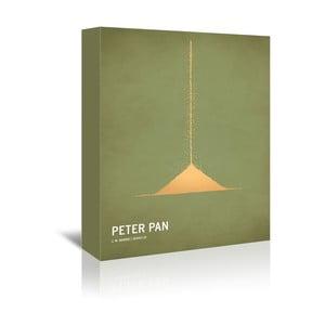 Obraz na plátně Peter Pan With Text od Christiana Jacksona
