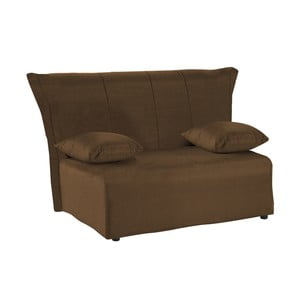 Canapea extensibilă cu 2 locuri 13Casa Cedro, maro