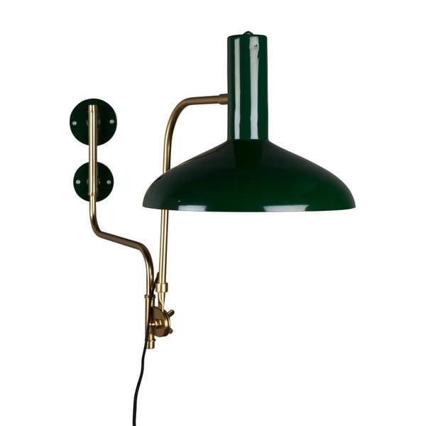 Zelené nástěnné svítidlo Dutchbone Devi
