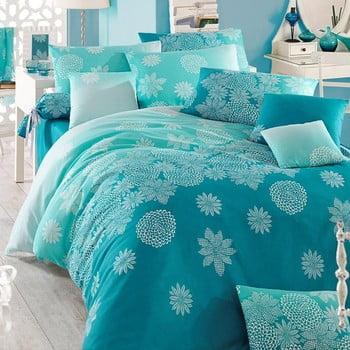 Lenjerie de pat cu cearșaf Simay, 200x220cm