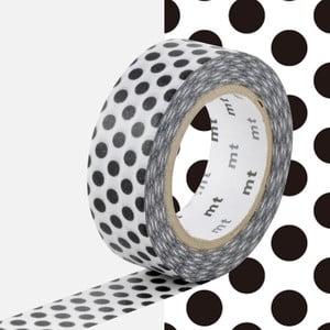 Bandă decorativă Washi MT Masking Tape Alida, rolă 10 m