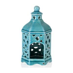 Keramická lucerna Turquoise