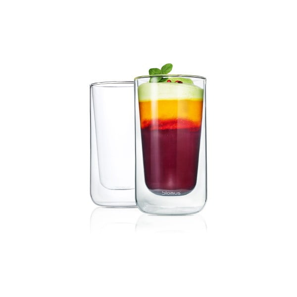 Set 2 pahare Blomus Latte Macchiato, 320 ml