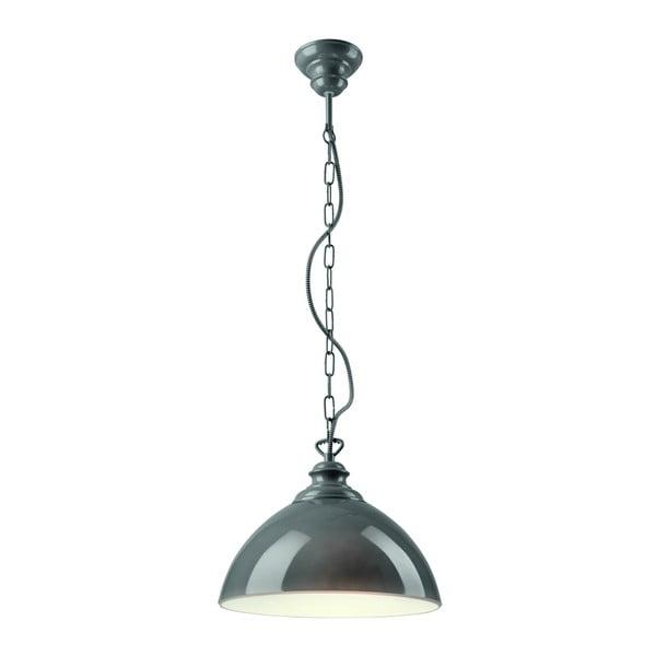 Szara lampa wisząca Lamkur Rainy