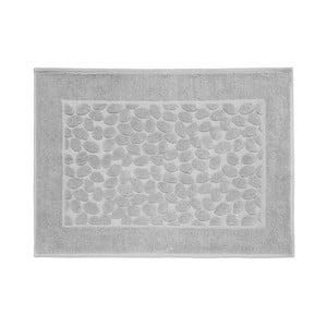 Šedá bavlněná koupelnová předložka Maison Carezza Ciampino, 50 x 70 cm
