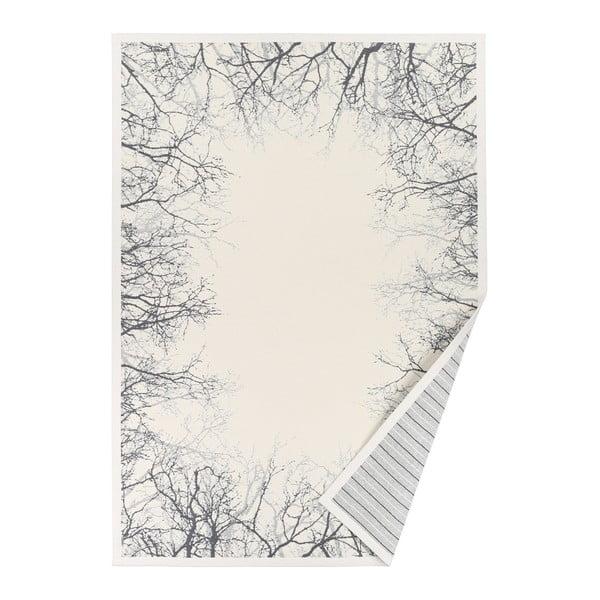 Covor reversibil Narma Puise, 70 x 140 cm, alb