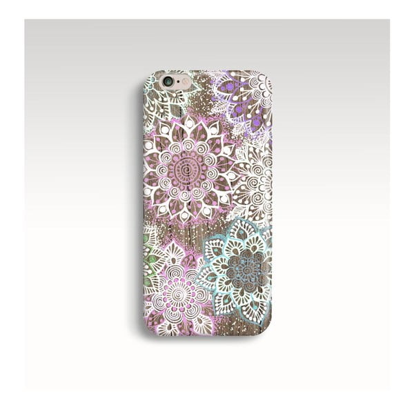 Obal na telefon Wood Mandala Color pro iPhone 5/5S