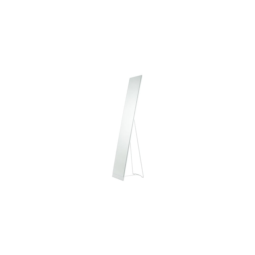 Bílé stojací zrcadlo Stand