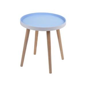 Modrý stolek Ewax Simple Table, 48 cm