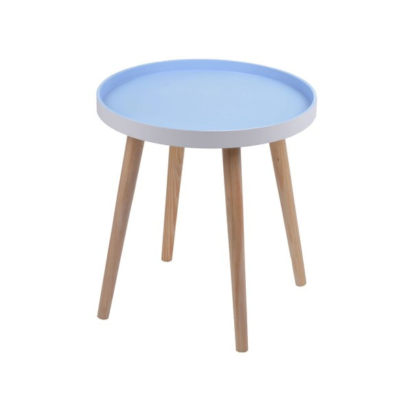 Modrý stolek Ewax Simple Table, 48 cm
