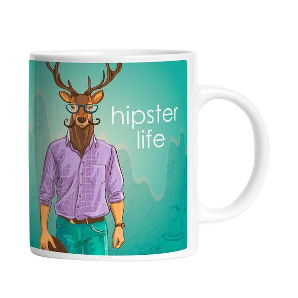 Hrnek Hipster Life, 330 ml