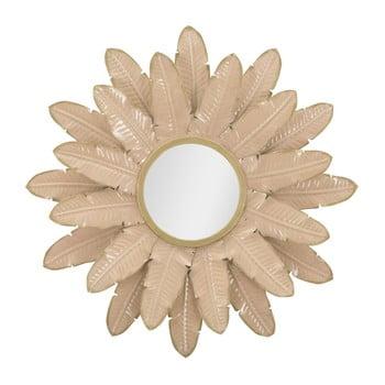 Oglindă Mauro Ferretti Palm, ⌀ 64,5 cm, roz