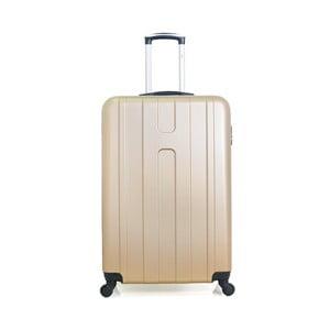 Cestovní kufr ve zlaté barvě na kolečkách Hero Ioulia, 60 l