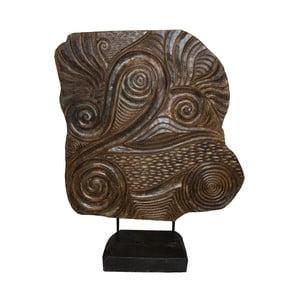 Dekorace ze dřeva mungur HSM Collection Sude