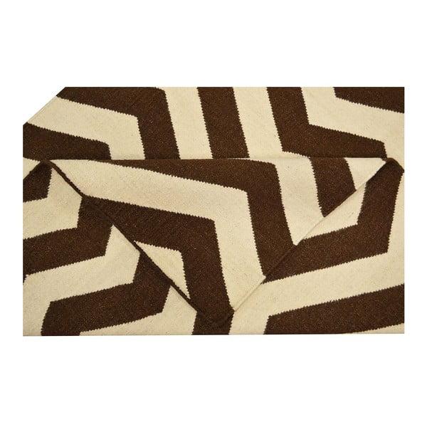 Vlněný koberec Kilim no. 17, 120x180 cm