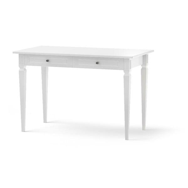 Bílý děstký pracovní stůl BELLAMY Ines