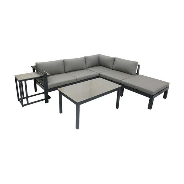 Set canapea de grădină pe colț și masă ADDU Miranda