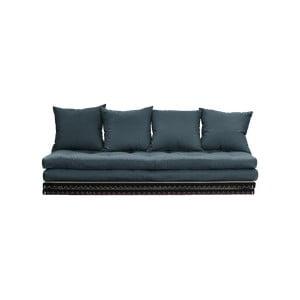 Canapea extensibilă Karup Design Chico Petrol Blue, albastru