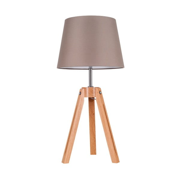 Stolní lampa Tripod Britop, šedá