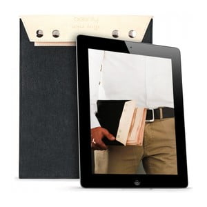 Pouzdro na iPad Cream