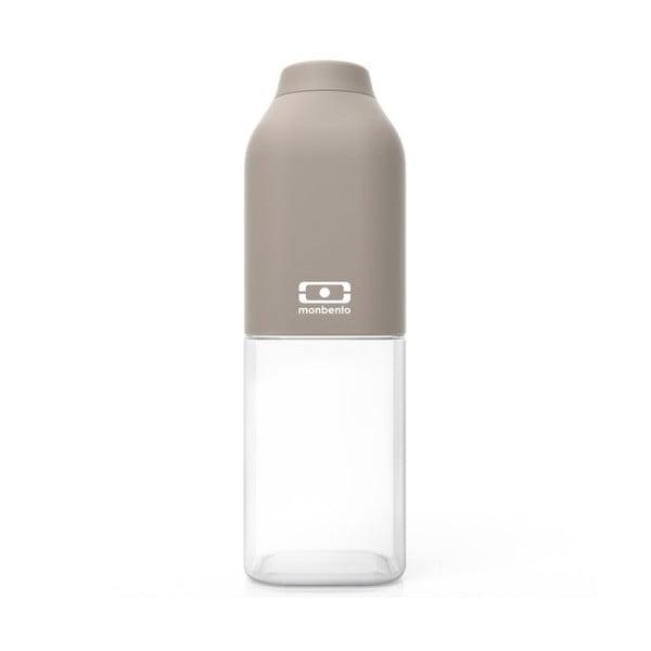 Šedá lahev Monbento Positive, 500 ml