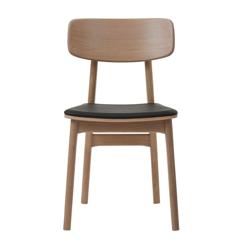 Jídelní židle ze dřeva bílého dubu Unique Furniture Livo