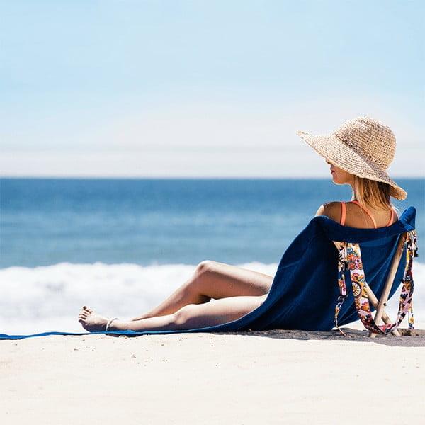 Skládací plážové lehátko a osuška v jednom Sun Seat Atlantic Jungle