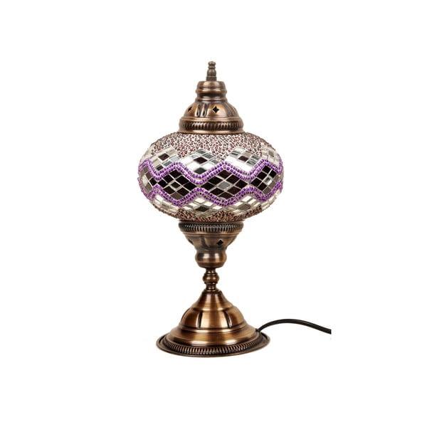 Skleněná lampa Homemania Hades, ⌀17cm