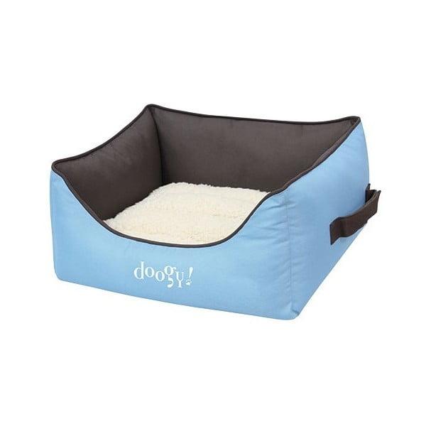Voděodolný psí pelíšek Doggy Bamboo, modrý