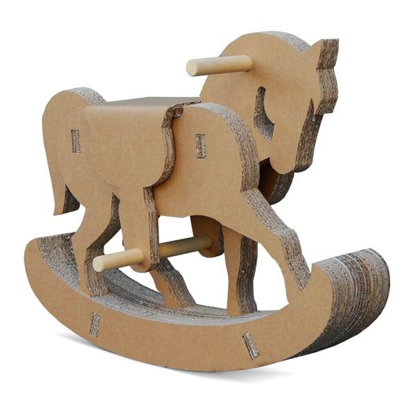Kartonový houpací koník Cavallino