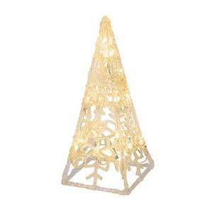 Svítící kužel Best Season Crystal Cone, 30 cm