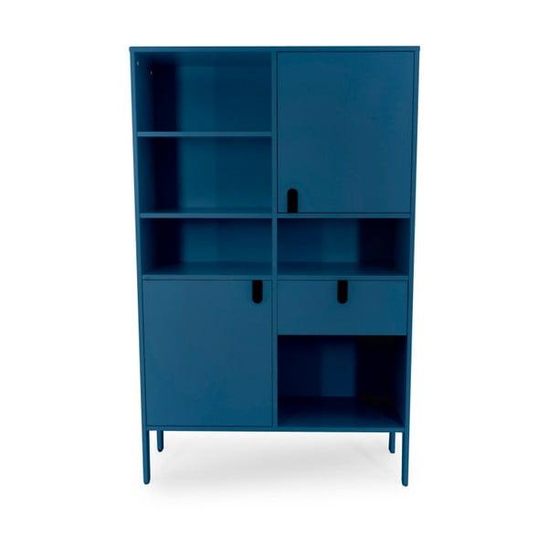 Petrolejově modrá skříň Tenzo Uno, výška 176cm