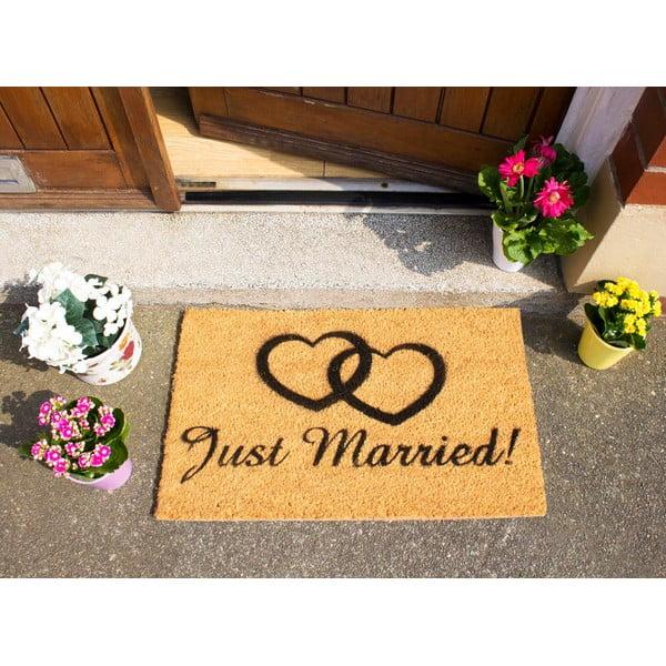 Rohožka Artsy Doormats Just Married,40x60cm