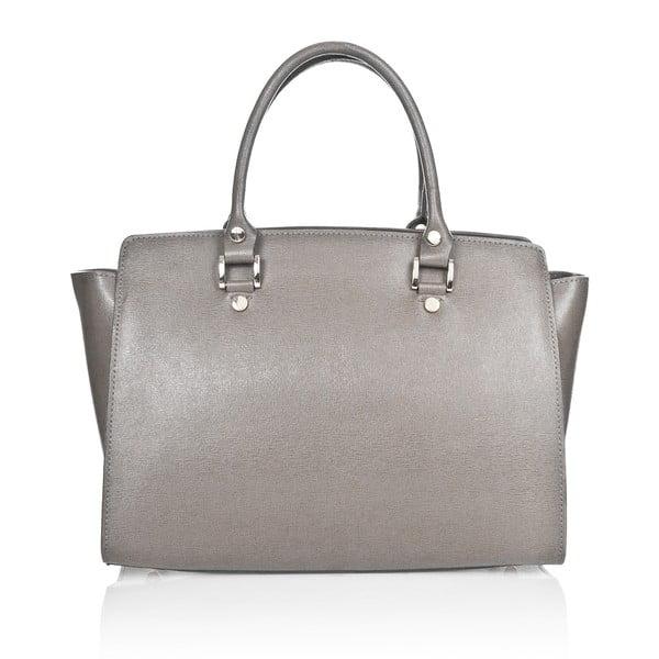 Kožená kabelka Markese 2391 Grey